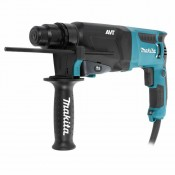 Перфоратор SDS-plus MAKITA HR-2611FTX5 800 Вт/2,9Дж/3кг/AVT/SDS патрон/3 реж/5 буров/пылесб