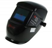Маска сварщика P.I.T. Хамелеон P 843002 (2 регул., зат.  DIN 9-13 питание Lit встр бат, черная)б/упаковки