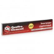 Электроды сварочные QUATTRO ELEMENTI рутиловые 2,5 мм (0,9 кг)